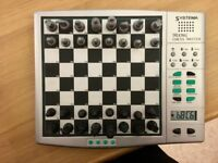 Systema Portable talking Magnetic battery Chess Computer Set