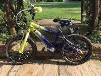 Boys Raleigh Striker bike, 12 inch wheel rims. Very good condition.