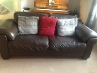 Free leather sofa - collection only
