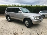 2003 TOYOTA LANDCRUISER AMAZON FACELIFT MODEL #RARE 5 SPEED MANUAL#PERFECT TOWING SUV