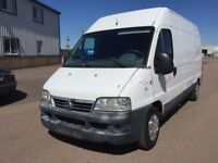 LEFT HAND DRIVE FIAT DUCATO VAN,DRIVES WELL,GOOD LOAD SPACE,ENGINE & MECHANICS,PAPER SORTED.CALL ME