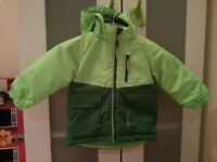NEW H&M 1.5-2 years boys green hooded jacket 1.15-2 years. 1-2 years