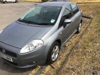 07 Plate fiat punto 1.4 Spares and repairs