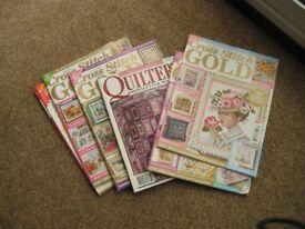 Cross Stitch Gold magazines