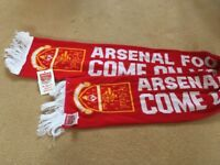 Arsenal scarf, brand new with tag
