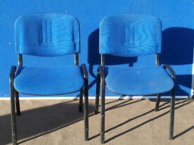 2 Blue chairs (Delivery)