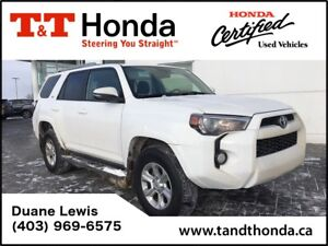 2016 Toyota 4Runner SR5 * No Accidents, Sunroof, Bluetooth