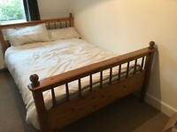 Oak Double Bed. JB McLean.