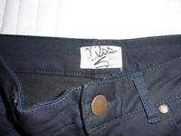 Miss Selfridge Navy skinny Jeans Size 12