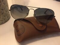 Aviator Ray Bans in perfect conditions