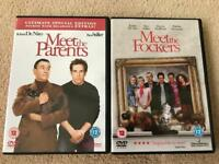 MEET THE PARENTS AND FOCKERS DVDS