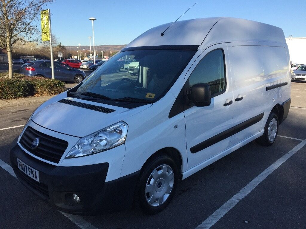 2007 fiat scudo 2 0 hdi m jet 120 lwb high roof long mot. Black Bedroom Furniture Sets. Home Design Ideas