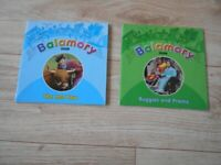 2 x BBC BALAMORY PAPERBACK BOOKS - BUGGIES & PRAMS, THE LOST COW