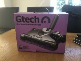 GTECH CORDLESS 7.2 V RECHARGEABLE LIGHTWEIGHT POWER FLOOR SWEEPER