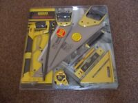 BRAND NEW PANYI 9-PIECE PROJECT PACK OF SAWS and associated carpentry tools