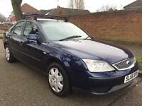 FORD MONDEO 12 MONTHS MOT STARTS AND DRIVES PERFECT AND ROOF RAILS