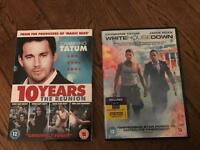 White House down + 10 years DVD