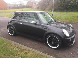 2004 04 Mini 1.6 Cooper 3dr Black