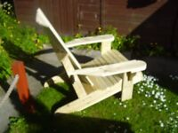 garden & patio reclining chair, brand new