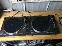 Technics SL 1210 MK2 Pair Turntables - Fully working
