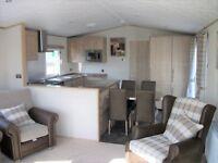 Huge stunning unique static caravan for sale/lodge/2.3k site fees/golf/lake/luxury park/pet friendly