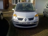 renault modus dynamique 1.6 12 mth mot 68000 miles full panoramic glass roof(electric