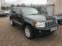 2007 Jeep Grand Cherokee 3.0 CRD V6 Overland 4x4 5dr Diesel Finance Available 6 Month warranty