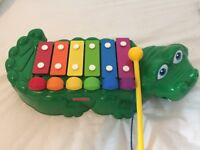 Fisher price musical crocodile