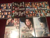 Seasons 6 - 12 Grey's Anatomy DVDs