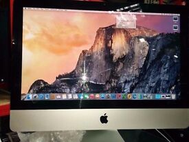 "APPLE IMAC CORE i3: Year 2010/21.5""Screen/4GB RAM/500GB HDD/ADOBE MASTER COLLECTION/Mac OFFICE 2011"