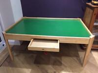 Child's play table for trains lego etc