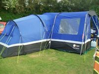 Hi Gear Zenobia 6 berth tent with porch. Brand new in box