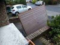 Free scrap metal - garage door