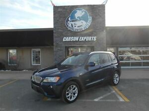 2013 BMW X3 X Drive! LOOK PANO ROOF! FINANCING AVAILABLE!