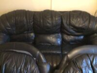 Real Leather Sofa to go