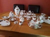 Royal Albert Old English Roses assorted china
