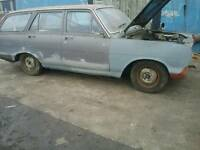 Vauxhall victor 101 estate 1966 project classic barn find
