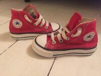 Toddler converse high top trainers