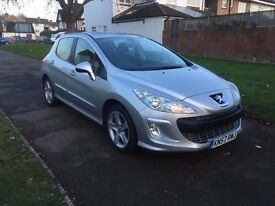 Peugeot 308 1.6 VTi Sport 5dr, p/x welcome, 6 MONTHS FREE WARRANTY