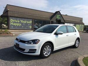 2016 Volkswagen Golf Trendline / ALLOY RIMS / HEATED SEATS / BLU