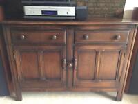 ERCOL Old Colonial dark wood Sideboard Cupboard Chest Dresser Unit