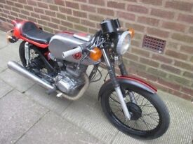 Classic Honda CB 100 Cafe Racer with MOT until 2019