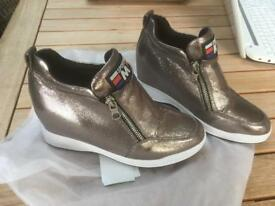 Brand new Silver ladies shoes