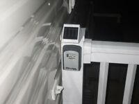 SOLAR STEPLIGHT, IDEAL FOR STATIC CARAVANS , AVAILABLE IN A RANGE OF COLOURS