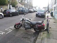 2009 Jinlun 250 Texan motorcycle - ideal project bike - located Brighton