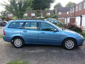 Ford Focus Ghia Estate 2002 Manual Transmission 1.8 Diesel TDCI