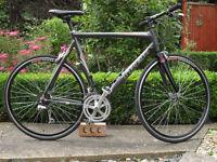 Trek Madone 5.2 Full oclv Carbon Aero Framed bike.