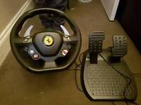 Xbox 360 ferrari steering wheel