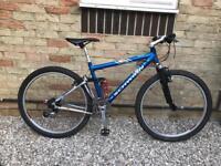 Schwinn rocket 88 full suspension mountain bike