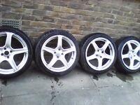 """17"""" Fox 6 Evo Alloy Wheels"""
